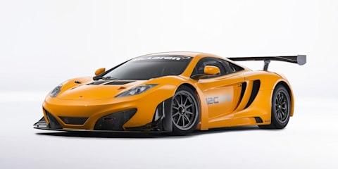 McLaren MP4-12C GT3 revised for 2013 racing season