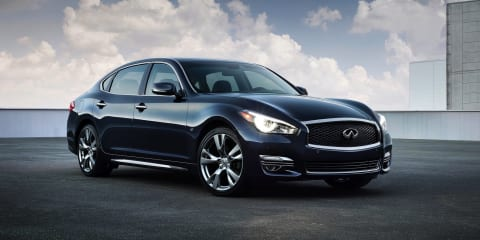 Infiniti Q70L: long-wheelbase variant headlines updated range