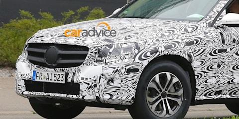 2015 Mercedes-Benz GLC-Class spied