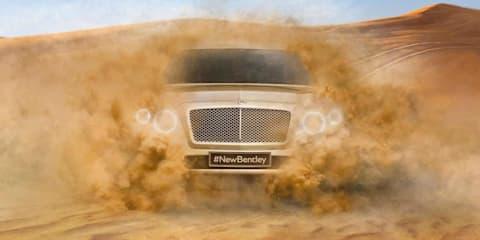 2016 Bentley SUV teased