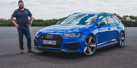 The CarAdvice Winners Circle 2018, Mike Stevens: Audi RS4 Avant