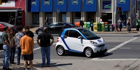 Smart ForTwo US car2go program begins in Austin, Texas