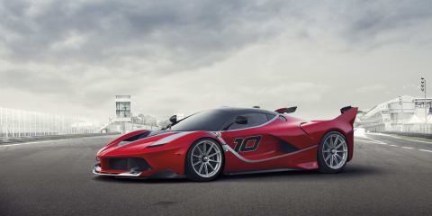 Ferrari FXX K: 772kW track-only version of the hybrid LaFerrari revealed