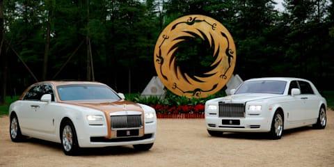 Rolls-Royce Ghost Golden Sunbird revealed