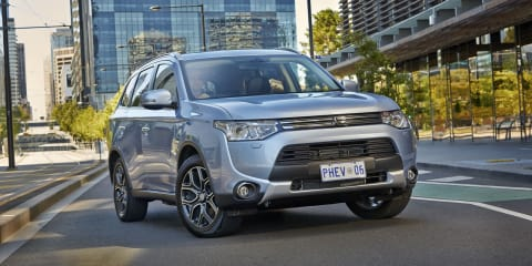 Mitsubishi Outlander PHEV on sale from $47,490