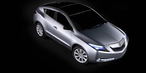 Honda unveils Acura ZDX concept in New York