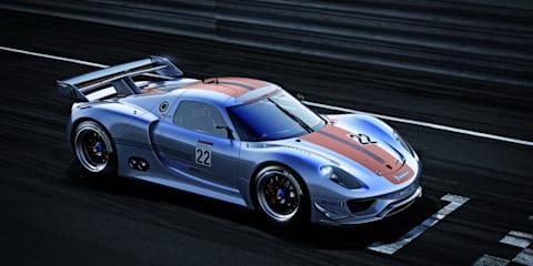 Video: Porsche 918 RSR Coupe Concept unveiled at Detroit