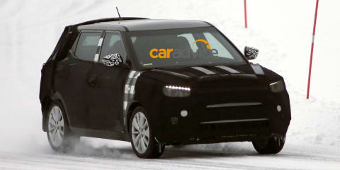 Ssangyong 'X100' baby SUV : EcoSport rival spied