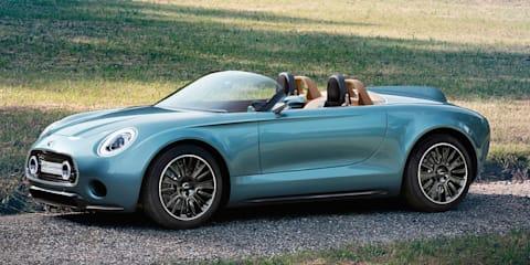 Mini Superleggera Vision: Electric roadster to debut at Concorso d'Eleganza Villa d'Este