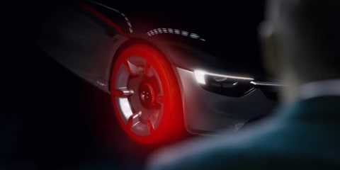 Opel GT revealed further in new preview video, teaser image