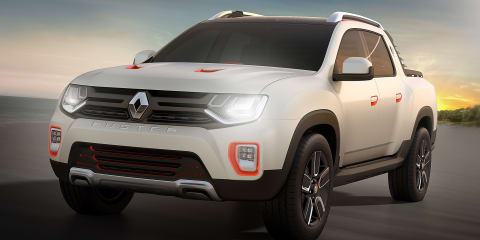 Renault Duster Oroch crew cab ute concept to debut in Sao Paulo