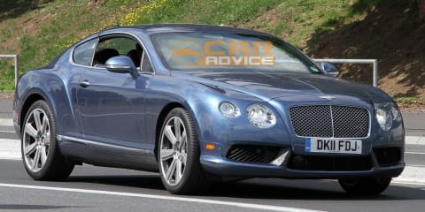 Bentley Continental GT Speed Spy Photos