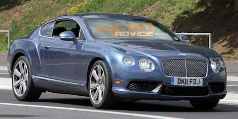 Bentley Continental GT Speed Spy Photos