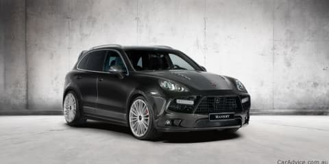2011 Porsche Cayenne Turbo by Mansory