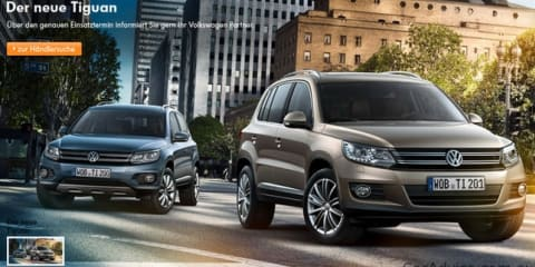 2012 Volkswagen Tiguan image leaked on German website