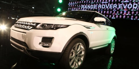 Range Rover Evoque production commences