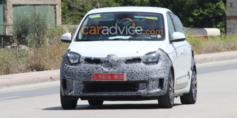 2019 Renault Twingo spied