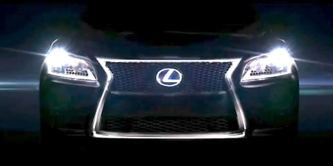 Lexus LS F Sport sneak peek