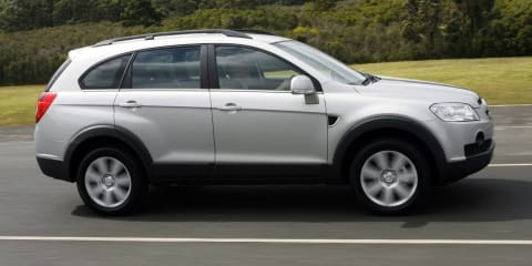 2007-2008 Holden Captiva recalled for diesel engine fault
