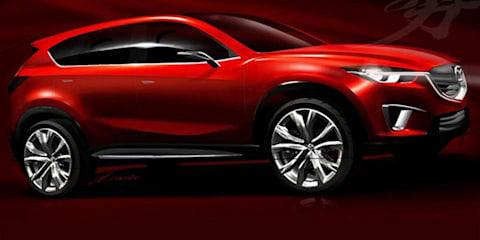 Mazda Minagi concept for Geneva, potential CX-5 SUV