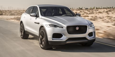 Jaguar C-X17 concept: new 46-image gallery released