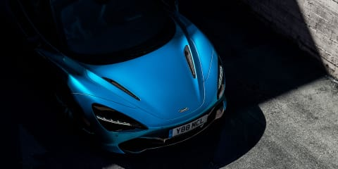 McLaren 720S Spider teased
