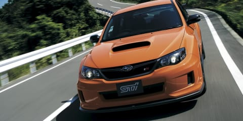Subaru WRX STI ts Type RA: Japan-only limited edition released