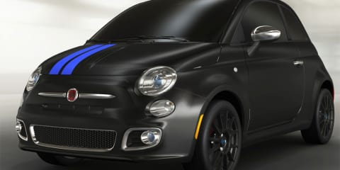 Fiat 500 Mopar edition preview to Detroit Auto Show