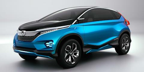 Honda Vision XS-1 concept : sporty seven-seat SUV revealed