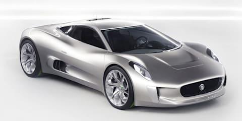 Jaguar C-X75: hybrid supercar details revealed