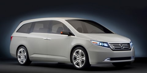 2011 Honda Odyssey Concept at the Chicago Auto Show