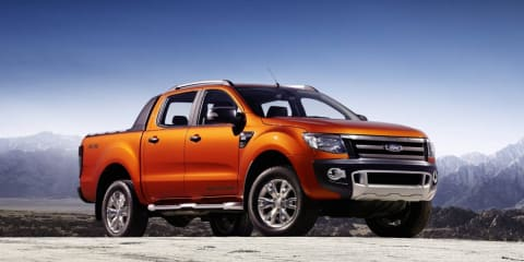 2012 Ford Ranger Wildtrak expected in Australia Q3 2011