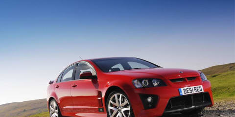 Supercharged Vauxhall VXR8