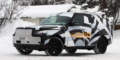 2013 Range Rover spy shots: Interior sneak peek