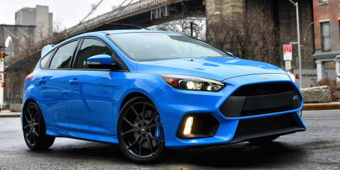 2016 Ford Focus RS pricing and specifications