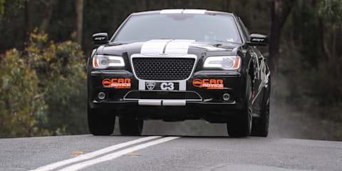 Chrysler 300 SRT8 'CarAdvice' racer at Targa Adelaide: Video
