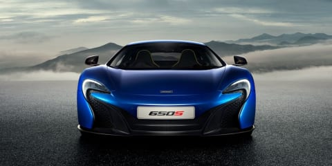 McLaren 650S : Official images of new supercar revealed