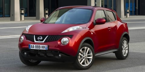 Nissan Juke priced from $21,990