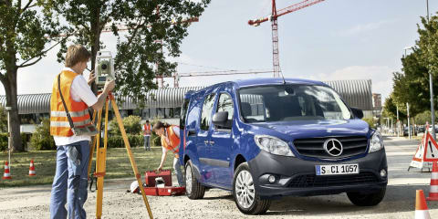 Mercedes-Benz Vans looking to bolster Australian line-up with small Citan