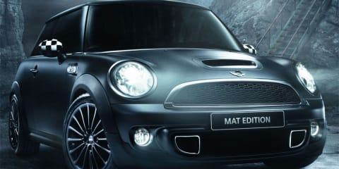 2011 MINI Cooper Matt Edition launched in France