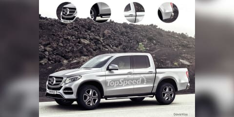 Mercedes-Benz ute will share components with Navara, be built by Renault-Nissan