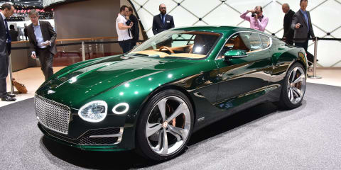 Bentley closing in on 'small' coupe decision - report