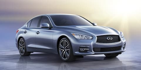 Infiniti Q50 headed to Geneva with four-cylinder Daimler engines