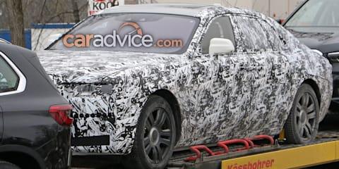 2020 Rolls-Royce Ghost spied