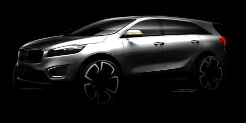 2015 Kia Sorento previewed in official sketches