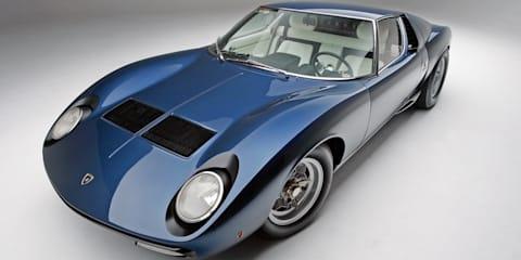 Lamborghini Miura – the definitive bible