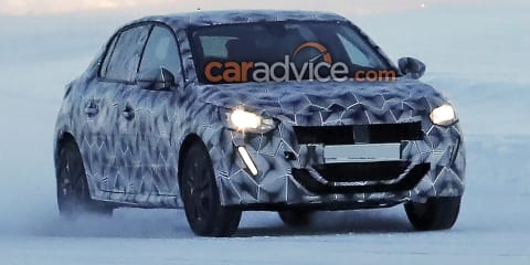 2019 Peugeot 208 spied again