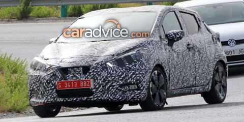 2017 Nissan Micra spied with less camouflage