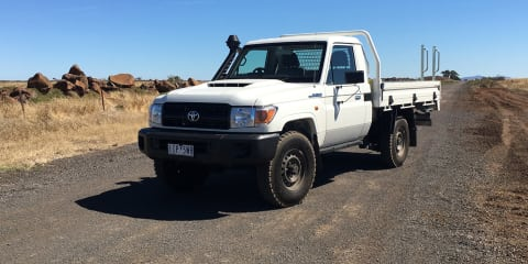 2017 Toyota LandCruiser 70 Series Workmate single-cab review