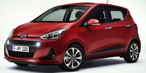 Hyundai i10 facelift unveiled, still no chance for Australia